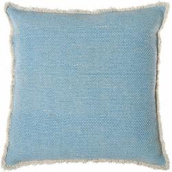 Riverdale Vintage Kussen 50 x 50 cm - Lichtblauw