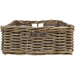 Opbergmand - 51x65x13 cm - koboo grijs