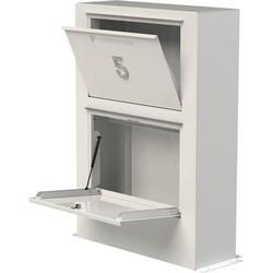 Adezz Paca brievenbus van aluminium 87 x 30 x 125 cm