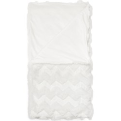 Plaid Viv 150x200 cm white - 100% Acryl 100% Polyester