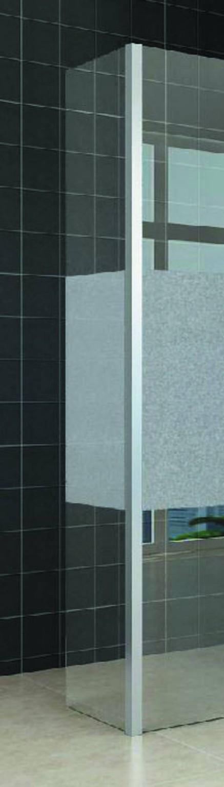 Saqu Zijwand 35x200 cm Nano Rookglas -