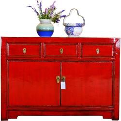 Fine Asianliving Antiek Chinees Dressoir Glamour Red - Shanxi