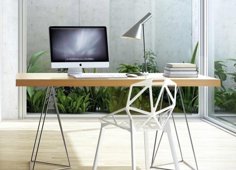 10x de mooiste bureaus met houten blad
