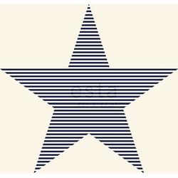 ESTAhome behang sterren marine blauw en beige
