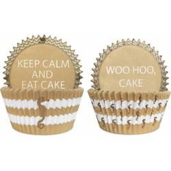 Delight Department  Preppy Seahorse Cupcake vormpjes | 50 stuks