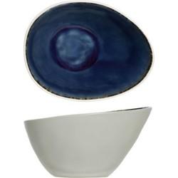 Cosy&Trendy Spirit Kommetje - Ovaal - 15x11.5x8.5 cm - Blue - 6 stuks