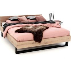 Massief houten  tweepersoons bed Ritsma 160x210 cm
