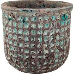 PTMD Seco green ceramic round pot M
