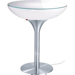 Moree - Statafel - Bartafel Lounge - Hoogte 105 Cm Indoor  - Wit