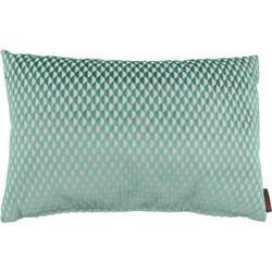 Sierkussen Patricia kleur Turquoise - 45x45cm