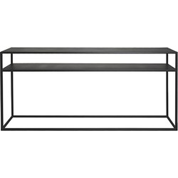 Scapa Home Iron Sidetable 125 x 80 cm - Zwart