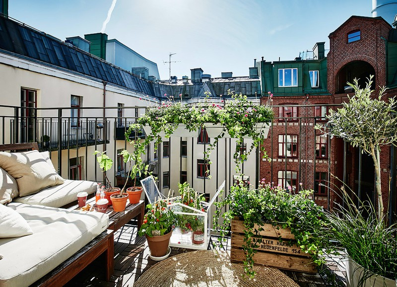 Summer in the city: de leukste zomerse balkons