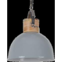 Hanglamp Fabriano Diameter 40 cm Glans Licht Grijs