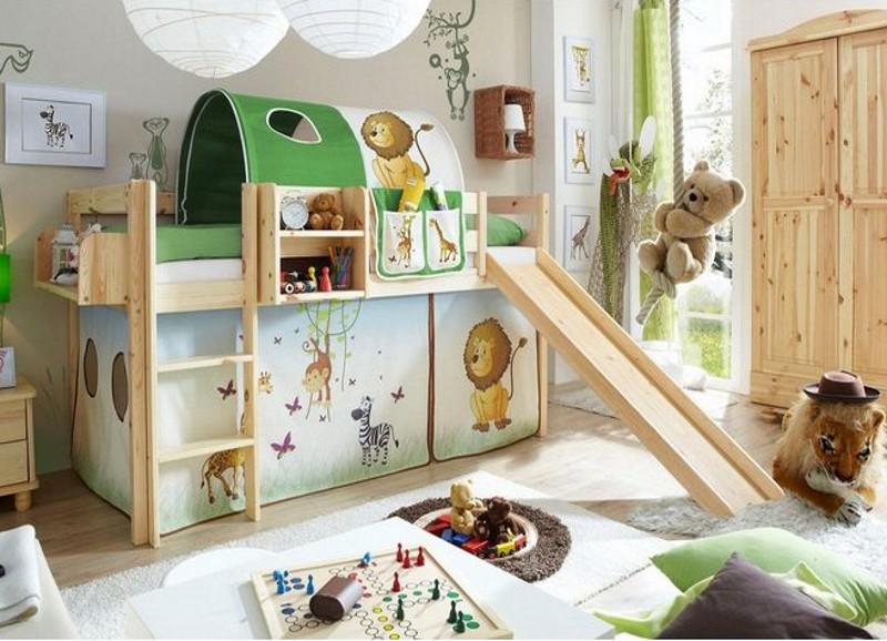 Kinderzimmer Klassiker: Das Hochbett