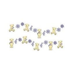 Graham & Brown Bears Mini Foam Wall Elements 24pcs