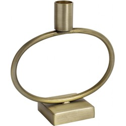 NORDAL Candle holder, brass