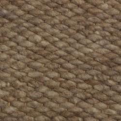 Wollen vloerkleed Bruin Limone 048 - Perletta - 130 x 200 cm