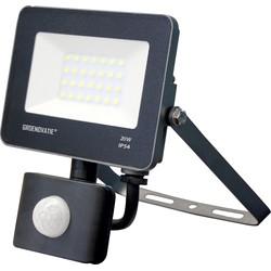 Groenovatie LED Breedstraler 20W Waterdicht IP65 Neutraal Wit, Sensor
