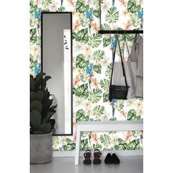 Zelfklevend behang Botanische jungle multicolour 122x275 cm