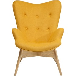 Kare Design Fauteuil Angels Wings Yellow Eco - Geel