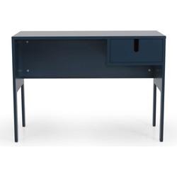 Tenzo UNO Bureau 1-Lade - 105x50x75 - Petrol Blauw