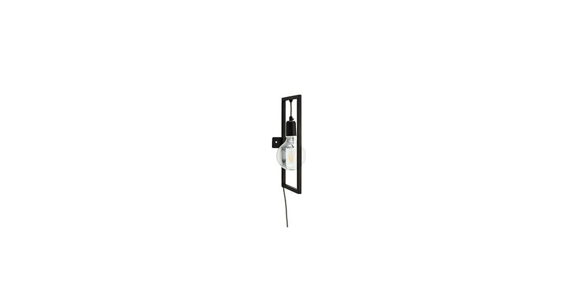 Madam Stoltz Madam Stoltz wall lamp black