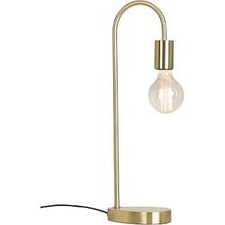 Bahne Funky Tafellamp Messing 50 cm - Goud