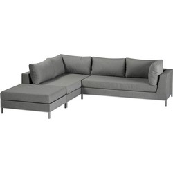 Exotan Sicilië loungeset LINKS - taupe
