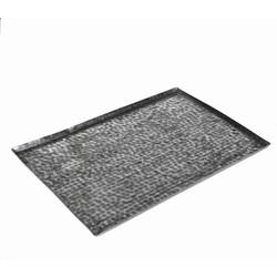 Casa Vivante tray masala maat in cm: 50x35 zilver antiek
