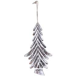 PTMD Christmas Dingle White Tree Strokes
