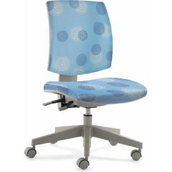 24Designs Kinderbureaustoel Flexis - Lichtblauw