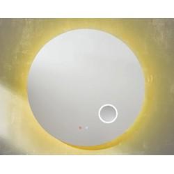 Line 45 Spiegel Rond 100x4 cm met LED Verlichting, Verwarming en Touch bediening