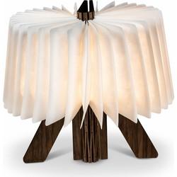 Lanterfant® Harmonica lamp van Tyvek - USB-oplaadbaar