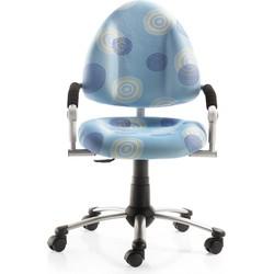 24Designs Kinderbureaustoel Skool - Lichtblauw