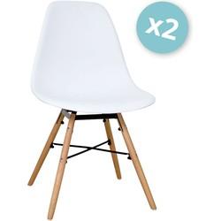 Zons - Set van 2 stoelen - Wit