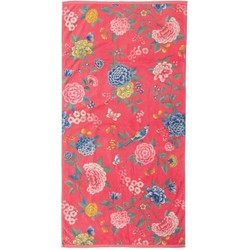 Pip Studio Handdoek Good Evening Coral-Douchelaken (70 x 140 cm)