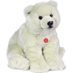 Knuffel IJsbeer Zittend 50 cm - Hermann Teddy