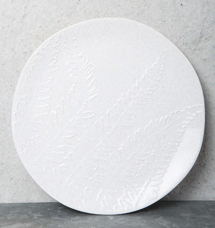 Leaf Breakfast Plate -