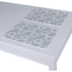 Placemats 2 st. blauw