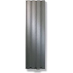 Vasco Carre Plus Verticaal CPVN designradiator as=1188 180x30cm 1097W Antraciet Januari