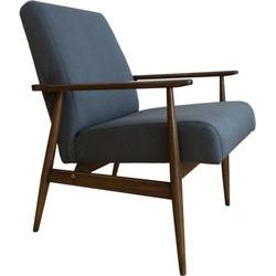 Mid-Century fauteuil Hanna Lis - blauw