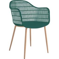Tamy - Set van 2 stoelen - Groen
