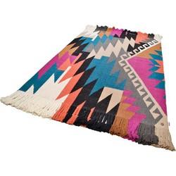 Teppich, Tom Tailor, »Funky Kelim«, handgearbeitet, Wolle