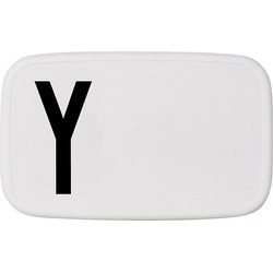 Design Letters Personal Lunch Box - Y